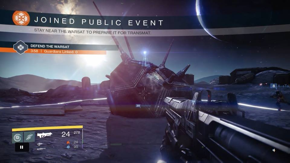 destiny public event