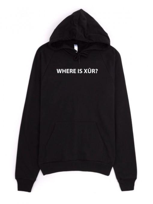 Where is Xur dark hoodie