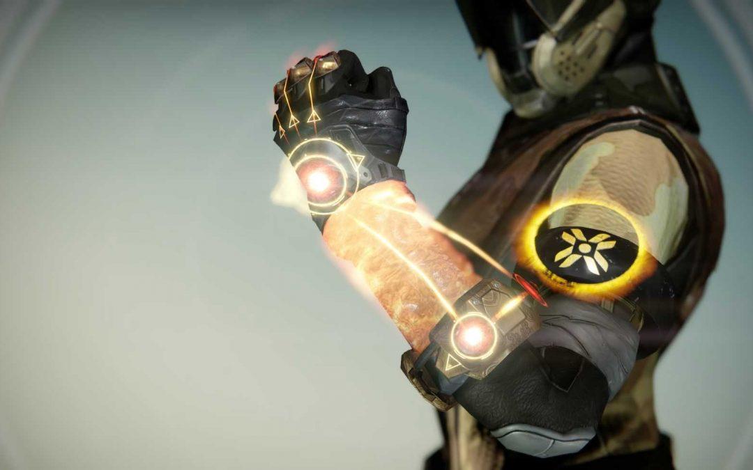 Sunbreakers Warlock Gauntlets