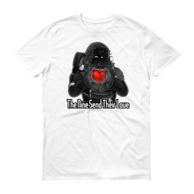 The Nine Send Their Love Happy Valentines Day T-Shirt