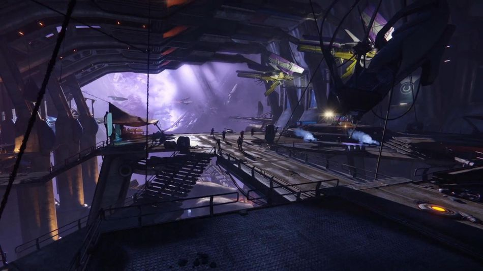 Xur is at the Tower on the left hand side by the speaker.