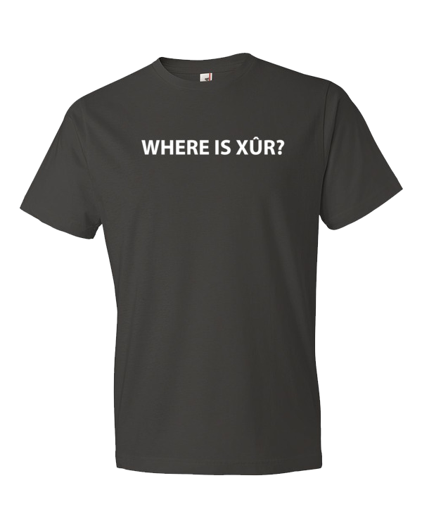 where is xur t-shirt