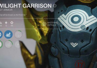 Twilight Garrison Titan Chest Armor