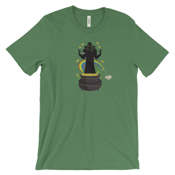 xur pot o strange gold t-shirt