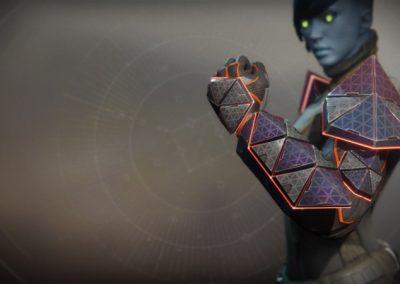 ACD/0 Feedback Fence Exotic Titan Gauntlets