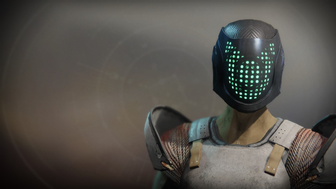 An Insurmountable Skullfort Exotic Titan Helmet