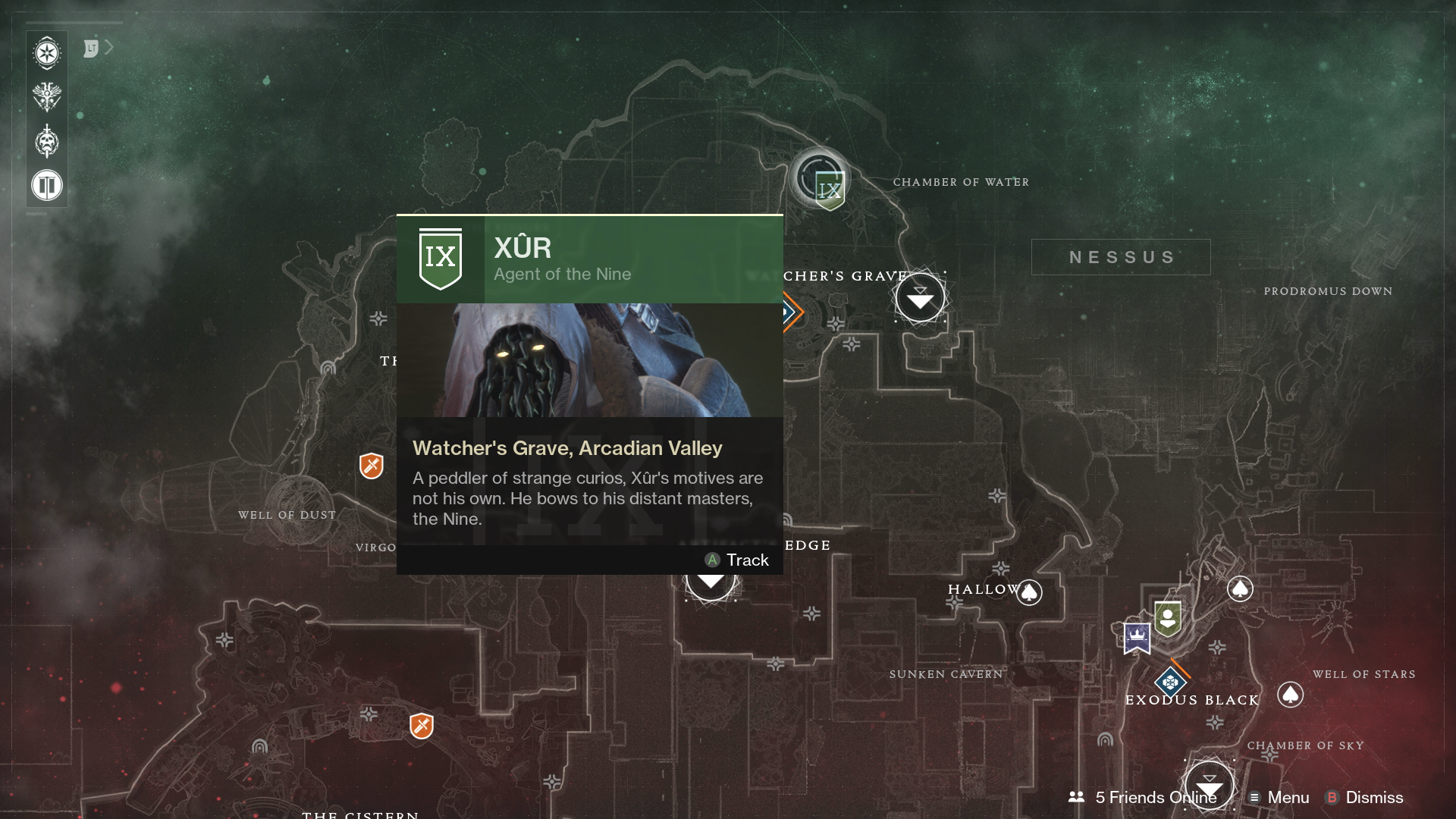 Where Is Xur Today Video