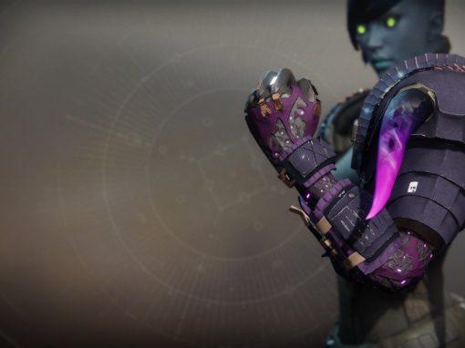 Doom Fang Pauldron Exotic Titan Gauntlets