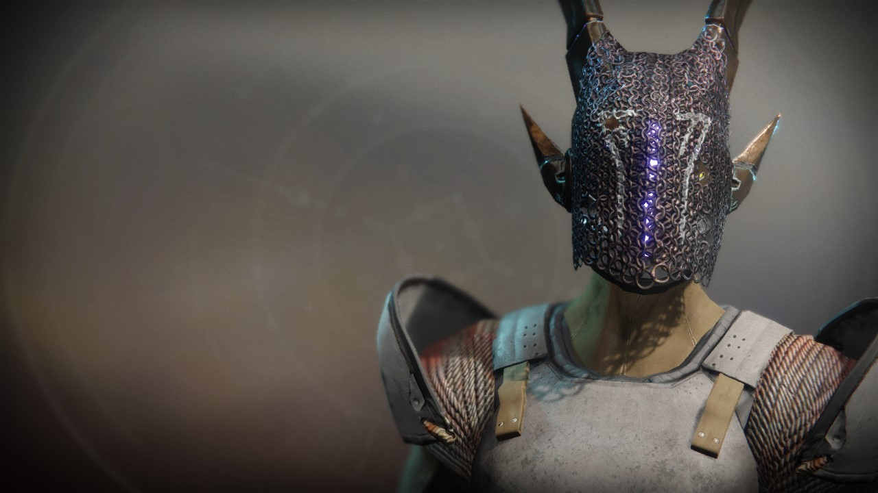 Mask of the Quiet One Exotic Helmet