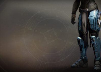 Peacekeepers Exotic Leg Armor