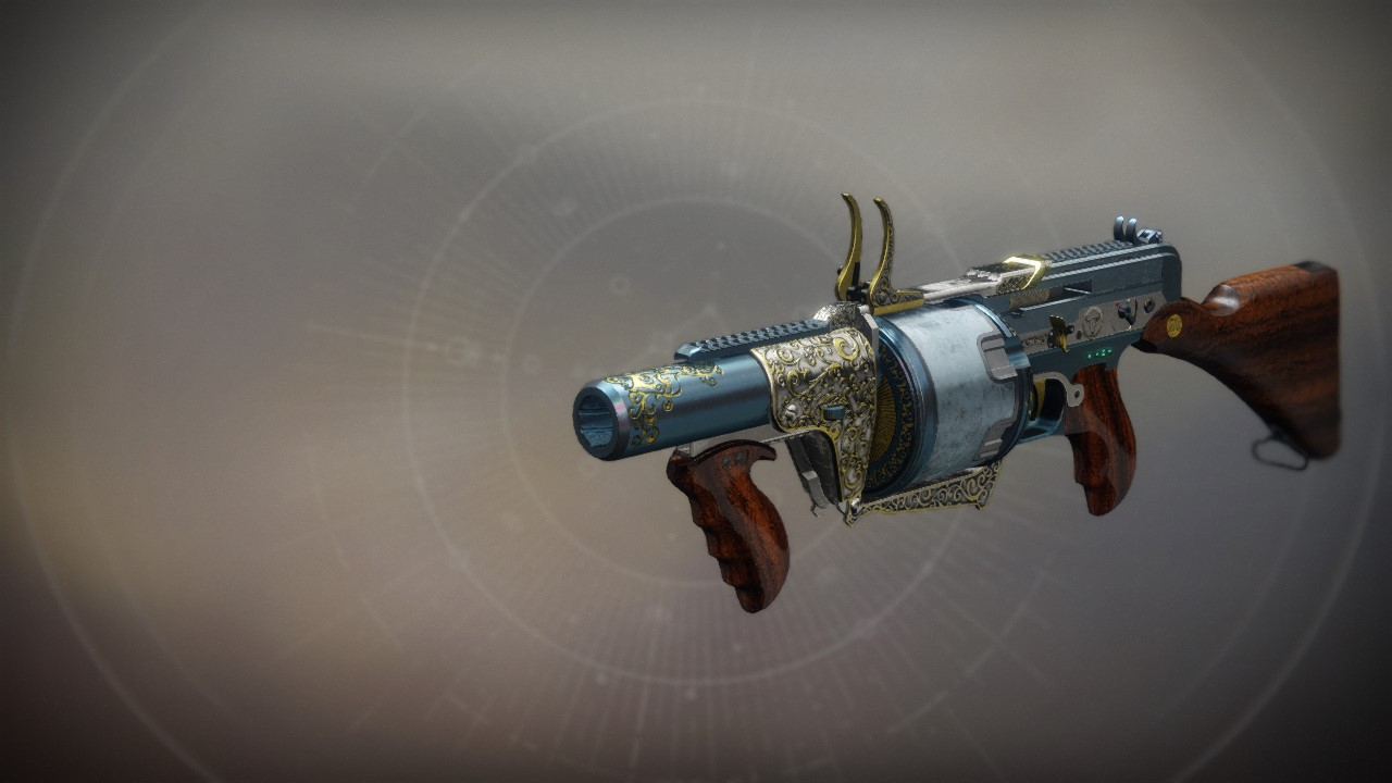 The Prospector Exotic Grenade Launcher