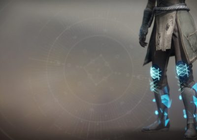 Transversive Steps Exotic Leg Armor