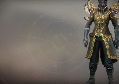 Wings of Sacred Dawn Exotic Warlock Chest Armor
