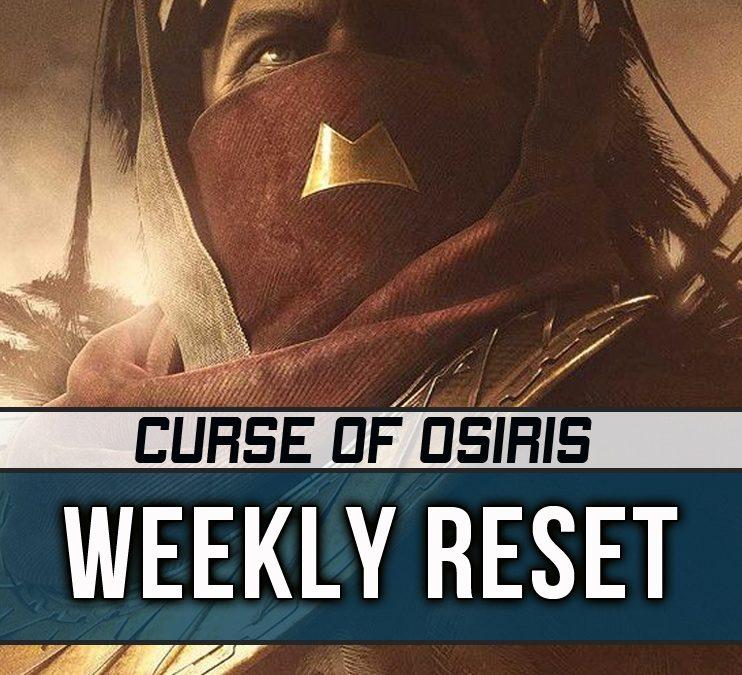 Destiny 2 Weekly Reset 10-31-2017