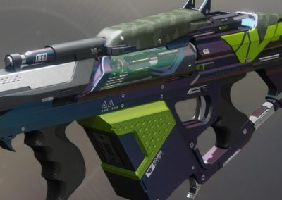 The Colony Exotic Grenade Launcher